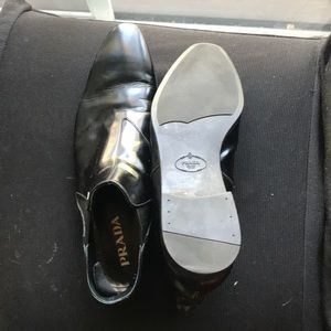 Prada men's size 11 leather boots